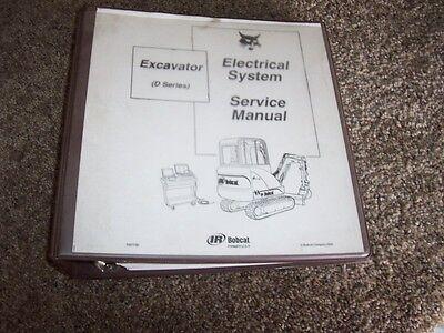 Bobcat Ingersoll Rand 325d Excavator Electrical System Service Repair Manual