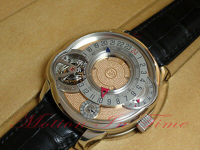 Greubel Forsey IP3 Platinum INVENTION PIECE 3 Tourbillon 25° Limited 11 Pieces
