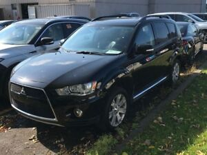 2012 Mitsubishi Outlander XLS S-AWC | AWD | LEATHER | ROOF