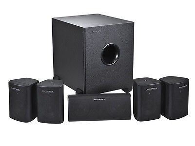 5.1 Channel Home Theater Satellite Speakers & Subwoofer? Bla