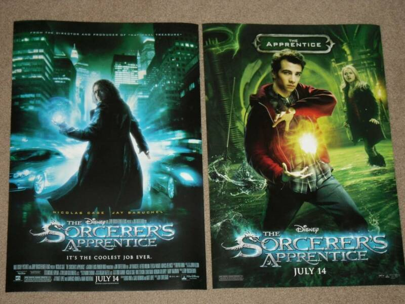 Sorcerers Apprentice Set Of 2 13x19 Promo Movie Posters