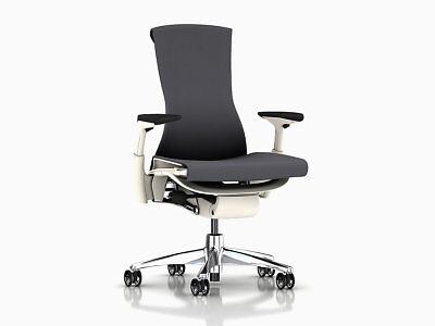 Embody Chair -by Herman Miller - Charcoal Rhythm - Brand New