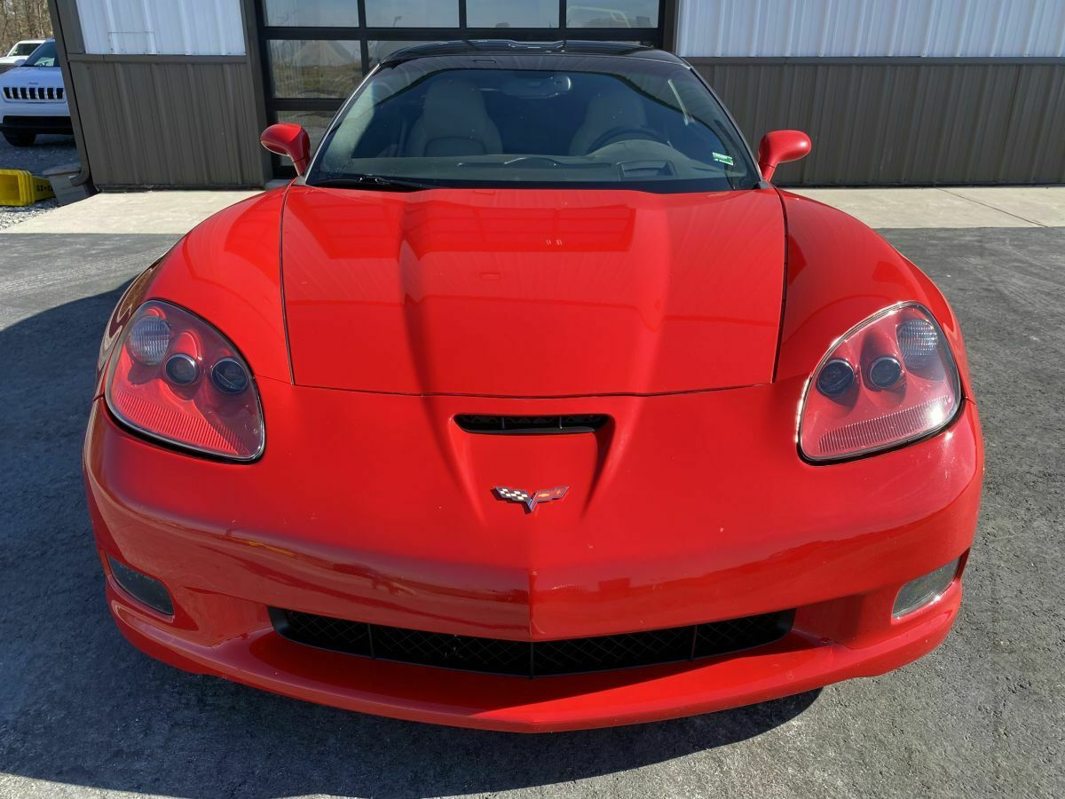 2010 Red Chevrolet Corvette     C6 Corvette Photo 2