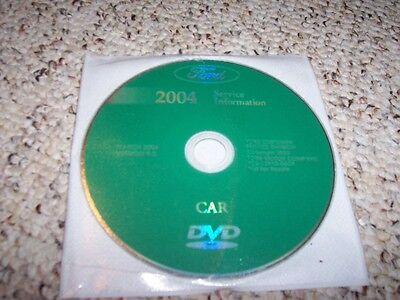 2004 Ford Focus Shop Service Repair Manual DVD ZX3 ZX5 LX SE ZTS ZTW SVT