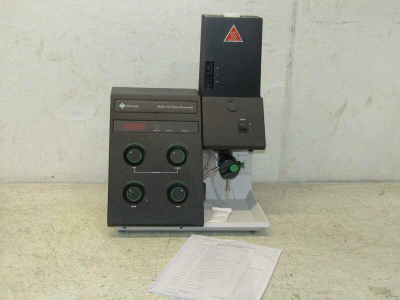 Sherwood Model 410 Single Channel Classic Flame Photometer Range P/N: 47541200