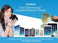 Want CASH for your unwanted iDevice? Speak to us at BuyiDevice Kensington Melbourne City Preview