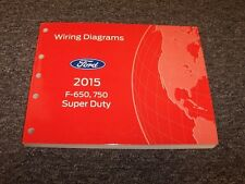 2015 Ford F650 F750 Super Duty Truck Electrical Wiring ...