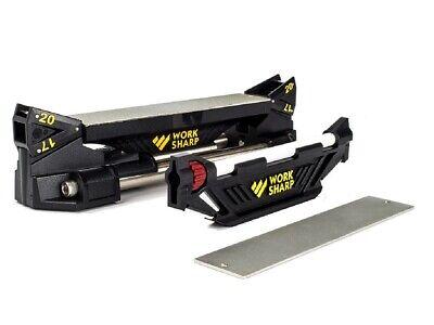 Work Sharp Guided Sharpening System WSGSS Manual Sharpener - Authorized Dealer