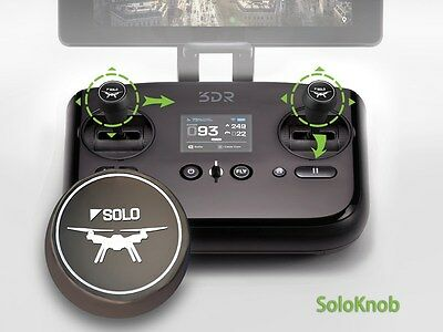 """""""Solo 2"""" - Precision control knobs for 3DR Solo Quadcopter Controllers"""