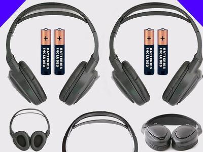 2 Wireless DVD Headsets for Suburban Tahoe Yukon : Headphones w/ Comfort Band