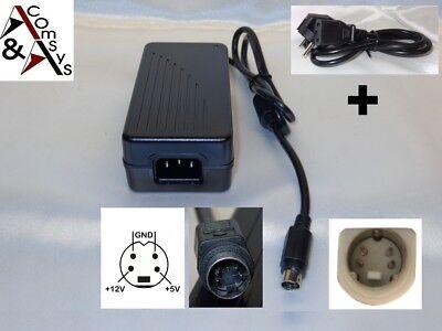 Netzteil POWER ADAPTER 12V 5V für externe Festplatte JENTEC JTA0202Y 4Pin    #LA