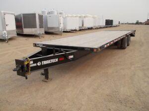 2018 Trailtech TD210-26 PH Industrial Flatdeck Trailer