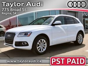 2014 Audi Q5 2.0 Progressiv PST PAID, LOCAL TRADE, PANORAMIC...