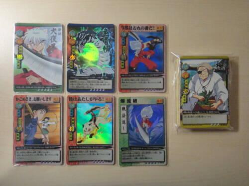 Bandai Inuyasha Carddass Vol 3 Lot of 42 Complete set Kagome Kagura Sesshomaru