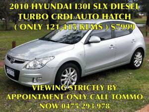 2010 HYUNDAI I30 1.6LTR 4-CYL DSL/TURBO AUTO HATCH (0NLY 121,615KLMS) Bayswater Bayswater Area Preview
