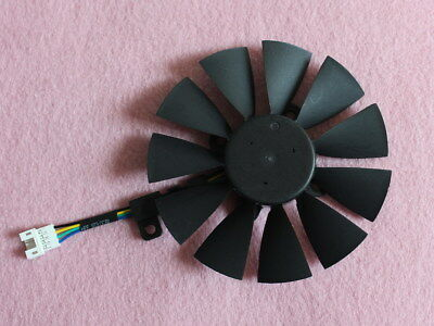 87mm ASUS STRIX RX460 RX470 R9-390X GTX1080 Fan Replacement 4Wire T129215SU R209 for sale  Shipping to Canada