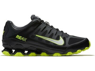 Mesh Men Sneakers - NIB Men's Nike Reax 8 TR Mesh Running Cross Training Shoes Sneakers BkGrn 022