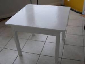 Kid's children's table coffee craft table white solid sturdy vguc Kiama Kiama Area Preview
