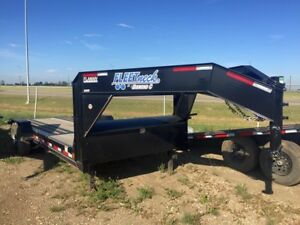 2017 Diamond C 45HDT Equipment Hauler Trailer