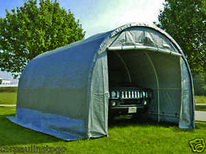 DOME STORAGE SHELTER 10' X 20' INSTANT GARAGE PORTABLE ...