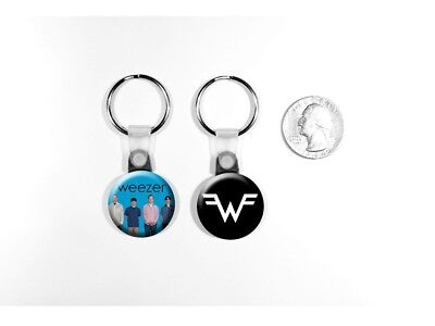 Weezer Rock Band Blue Album Rivers Cuomo Set of 2 Key Chains