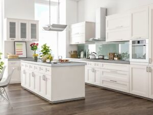 Wholesale Solid Wood White Shaker Kitchen Cabinets & Vanities !!
