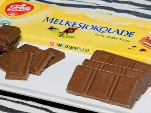 Freia Original Norwegian Milk Chocolate 200g Bar Free Shipping Worldwide