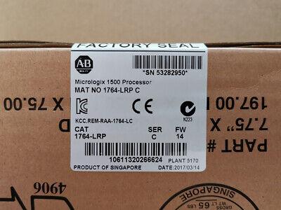 New Factory Sealed 1764-lrp Ser C Micrologix 1500 Processor Plc 1764lrp