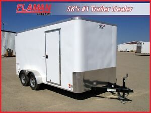 Bravo 7' x 14' Premium Cargo Trailer - Extra Height!