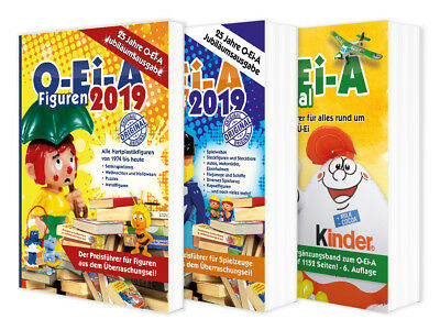 Das O-Ei-A 3er Bundle 2019, O-Ei-A Figuren + Spielzeug + O-Ei-A Spezial NEU!!