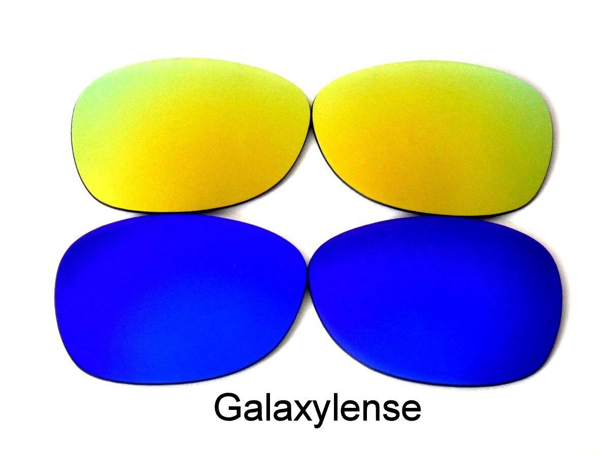 Verres de rechange Galaxy pour Ray Ban RB2132 New Wayfarer bleue   or 2Pair  52mm fdc0cd70df5f