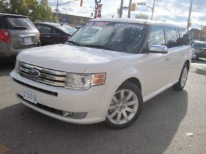 2009 FORD FLEX LIMITED | Leather • Low KMS!!!!! •