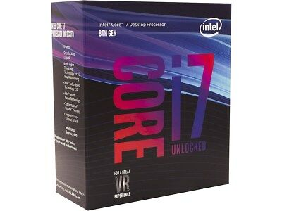 Intel BX80684I78700K 8th Gen Core i7-8700K Processor