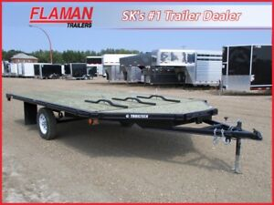 Trailtech 14' 3-Place Sled Trailer - Drive On - Drive Off!