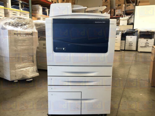 Xerox Workcentre 5865 A3 Mono Laser Copier Printer Scanner Mfp 65 Ppm 5875 5890