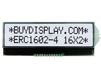 3.3v 16x2 Cog Black White Character Wtutorial I2c Serial Lcd Displayarduino