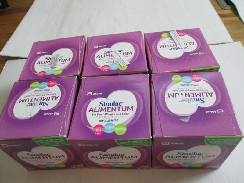 Similac Alimentum 7 oz lot of 6 EXP 9/22