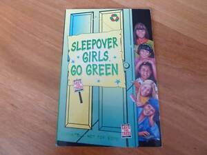 Sleepover Girls Go Green by Angie Bates. Excellent Condn.128p. Claremont Nedlands Area Preview