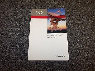 2012 Toyota Avalon Sedan Display Audio System Owner User Manual Limited 3.5L V6