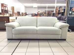 3 SEATER LOUNGE (BEIGE) FABRIC Logan Central Logan Area Preview