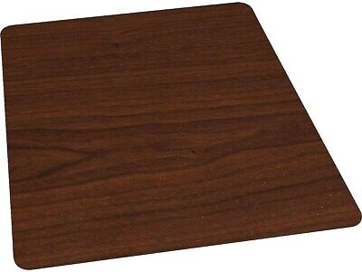 Myofficeinnovations 36 X 48 Wood Veneer Style Chair Mat For Hard Floors Cherry