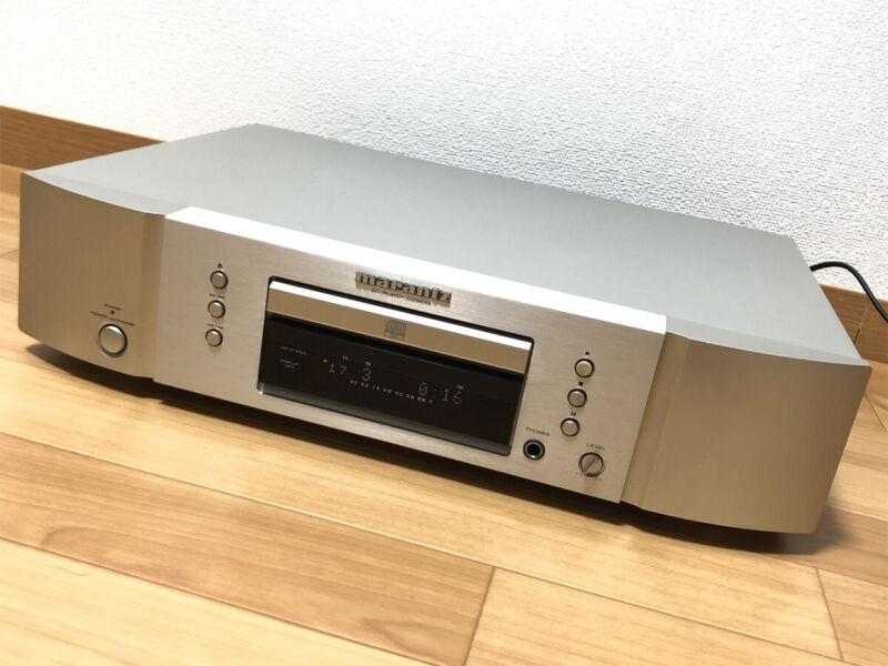 Marantz CD5004 D / A Converter CD Player Silver AC100V Vintage