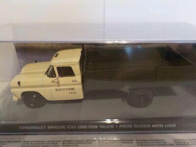 James Bond 007, Chevrolet Apache C30, One-Ton Truck, Nr. 126 1/43 Brand New