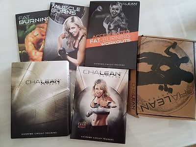 NewChaIean Extreme Circuit Training Workouts 10 DVDs Guides Booklets Sealed