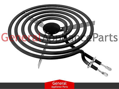 "Universal Electric Range Cooktop Stove 8"" 5 Turn Surface Burner Heating Element"