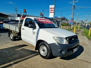 2010 Toyota Hilux TGN16R 09 Upgrade Workmate 5 Speed Manual Cab Chassis