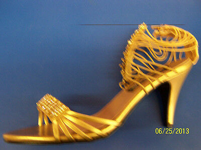 CLEOPATRA Shoes Gold Egyptian Sandal Dress Up Halloween Adult Costume Accessory - Egyptian Shoes Costume