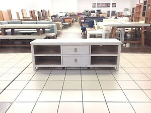 MINDI TIMBER WHITE WASH ENTERTAINMENT UNIT 180CM Logan Central Logan Area Preview