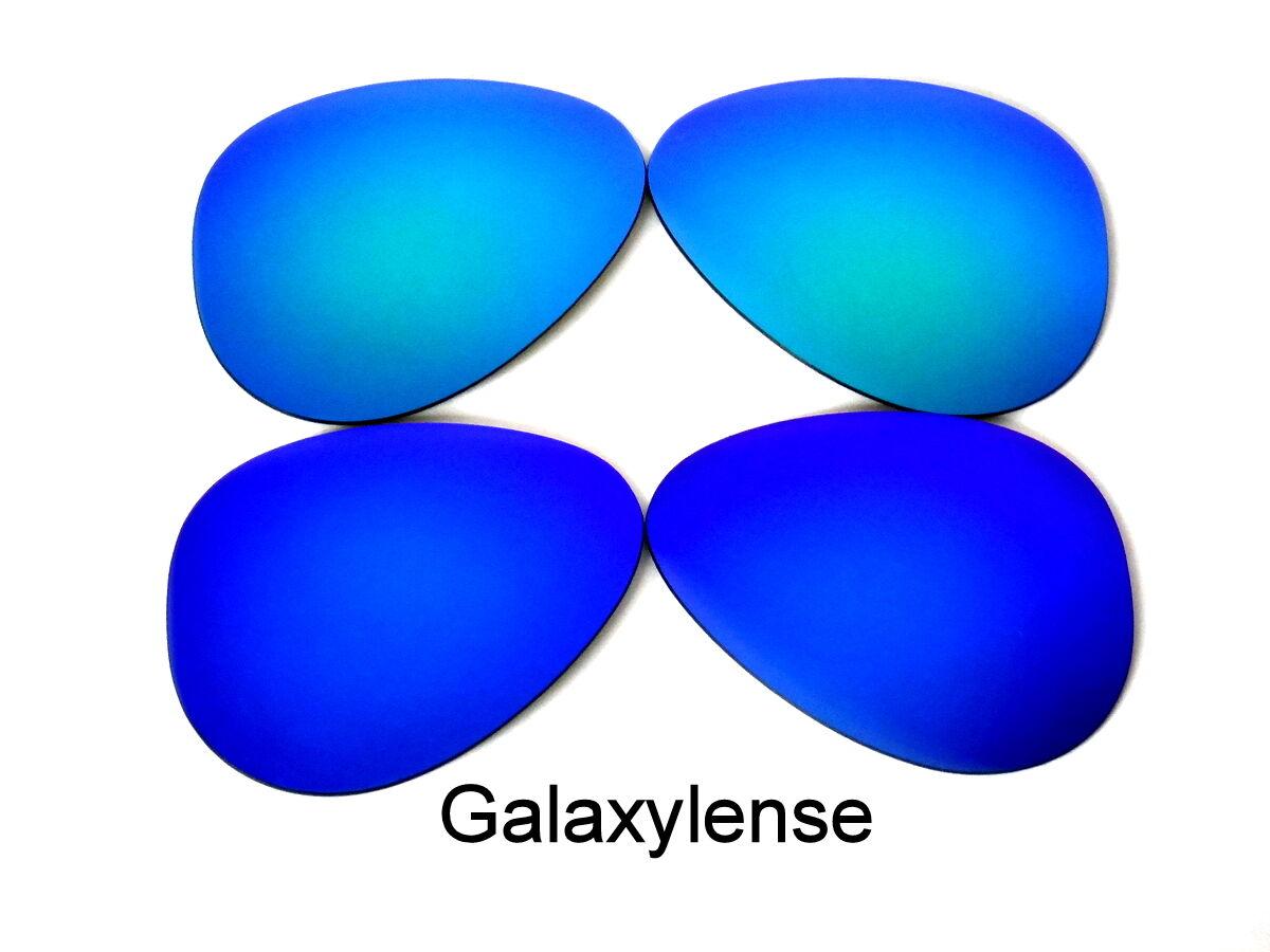 988678c071f1c Lentes de recambio de galaxia para Ray Ban RB3025 aviador azul y verde 58mm  polarizado