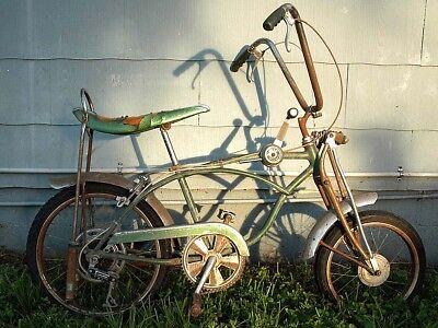 1969 Schwinn Krate Stingray Pea Picker Five Speed Stik Shift Bicycle Complete